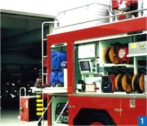 消防レスキュー車搭載の「OZ」