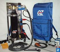 ポータブル熔断器「OZ」